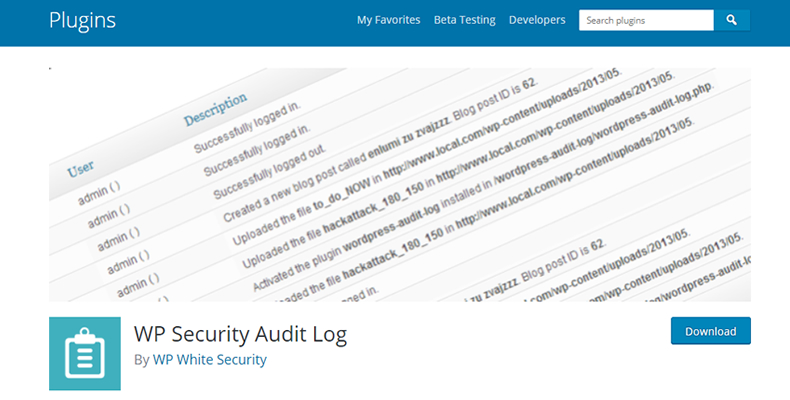 不正アクセス対策!ユーザーの行動を記録する無料プラグイン